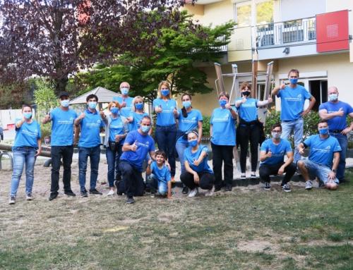 AWO Haus der Generationen Remeyerhof: Freiwilligentag mit den Mitarbeitern von Renolit