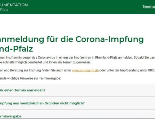 Unterstützung bei Terminvereinbarungen für Corona-Impfung durch das AWO Quartiersbüro- Südliche Vorstadt