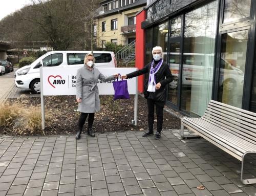 AWO Seniorenzentrum Koblenz: Dank der Gülser Seemöwen hält die Fastnacht Einzug